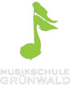 Musikschule Grünwald Logo mit grüner Note