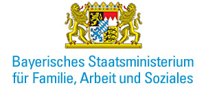 Wappen des Bayerischen Staatsministerium für Familie, Arbeit und Soziales