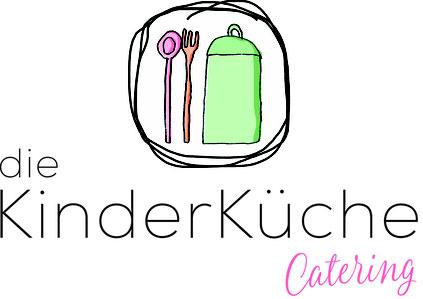 Logo des Caterings die Kinderküche